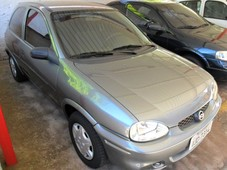 corsa hatch cinza 2000 - chevrolet